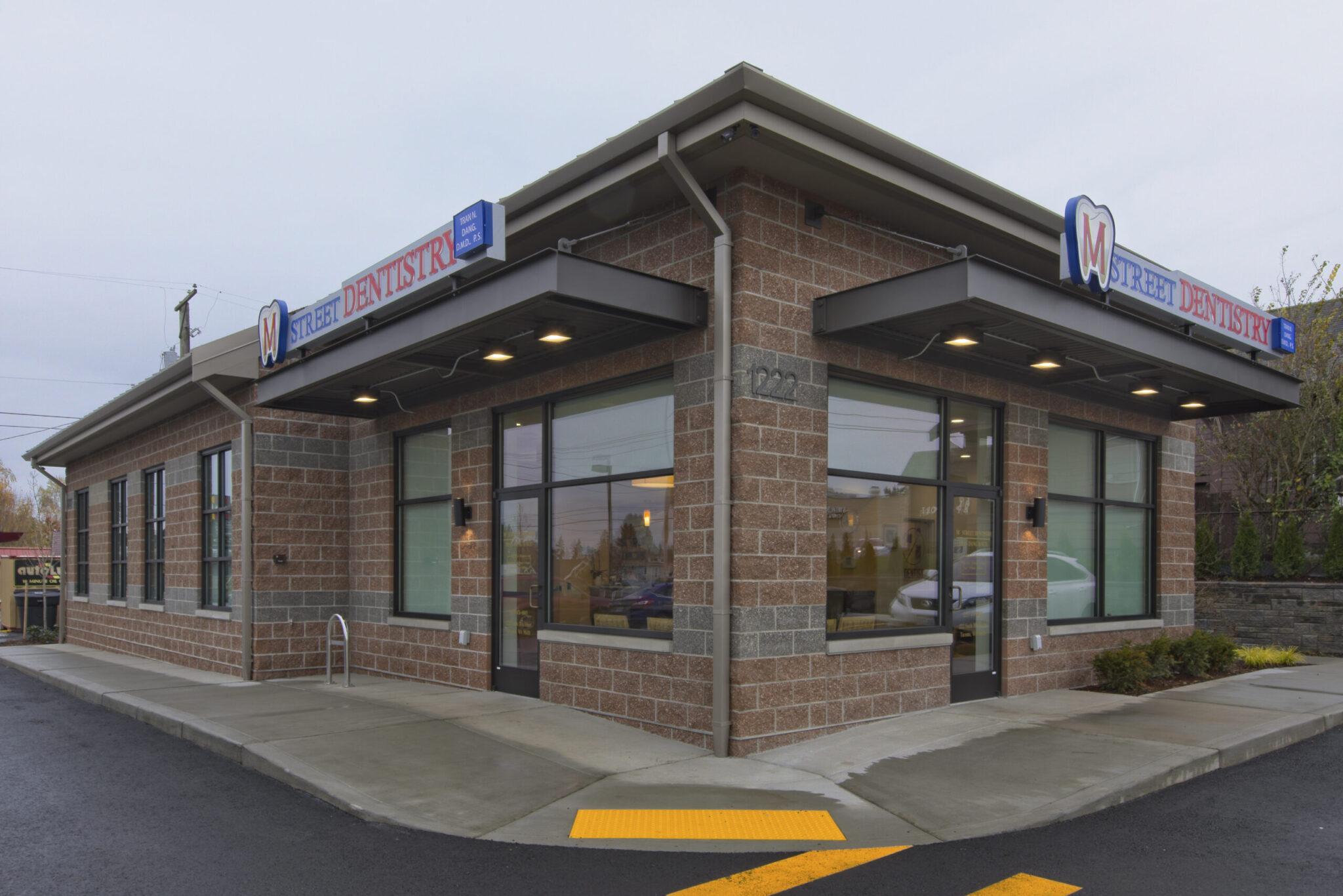 1701.1 - Exterior - M Street Dental, Tacoma