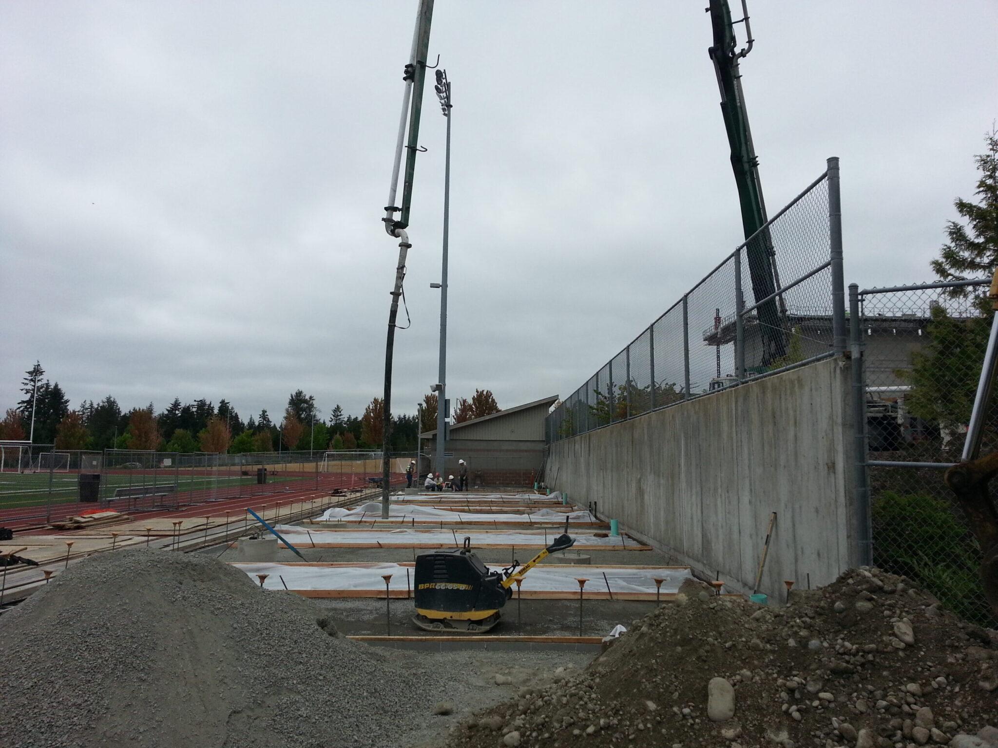 1803.1 - Concrete - BLHS Stadium Addition